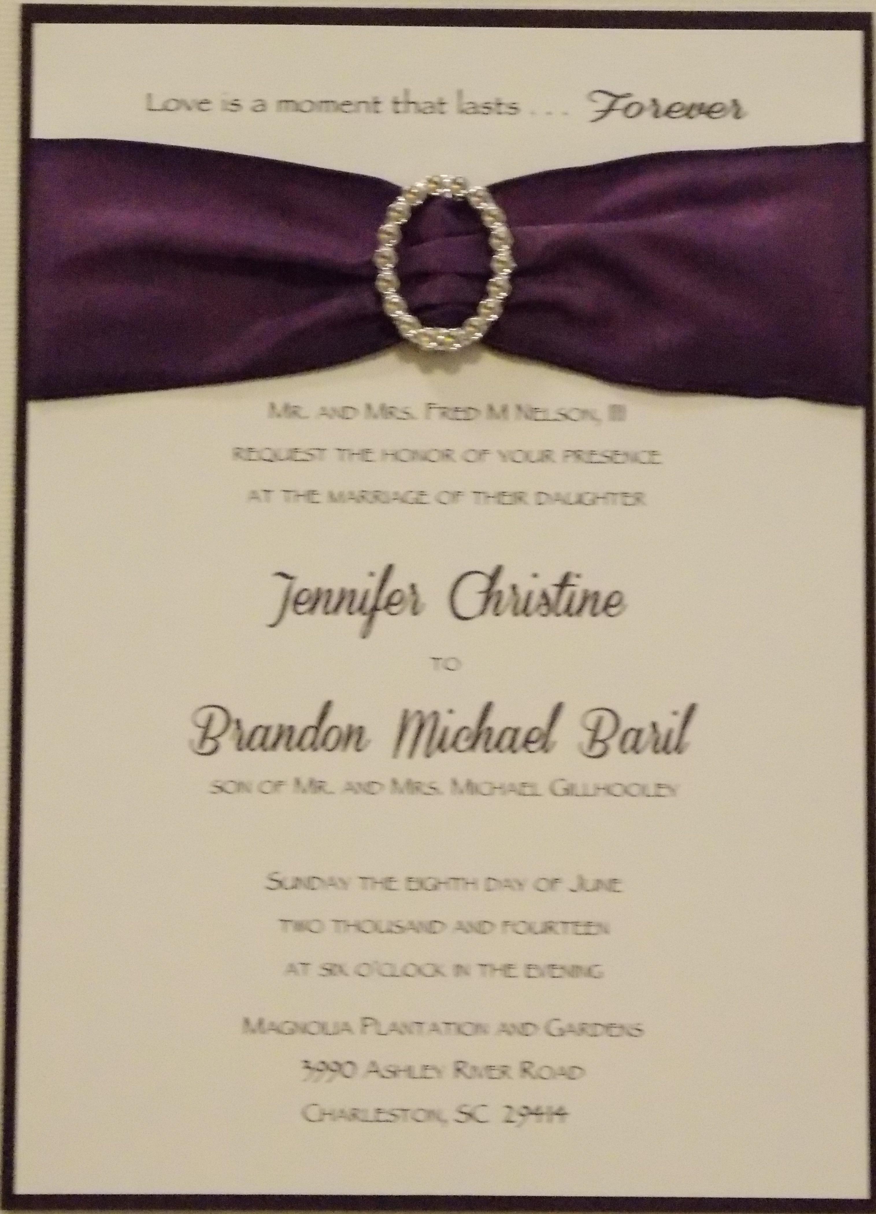 wedding-smooth card ensemble